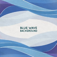 蓝色海洋矢量图