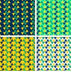 抽象四色几何背景