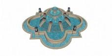 花式水池喷泉