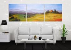 时尚简约客厅设计图片