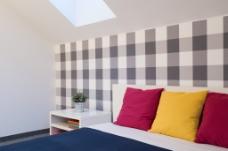 中式卧室客房家具室内效果图图片
