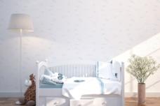 浪漫温馨儿童房室内设计