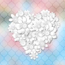 情人节爱心花朵