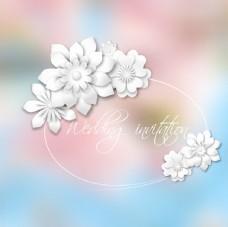 情人节花朵背景