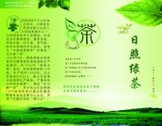 绿茶生态宣传折页设计