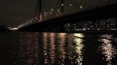 城市夜景光线视频设计