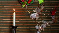 蜡烛花卉视频拍摄