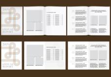 简约国外商务企业宣传画册