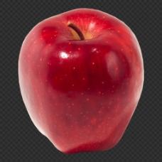 红色苹果图片免抠png透明图层素材