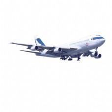 白色飞机元素