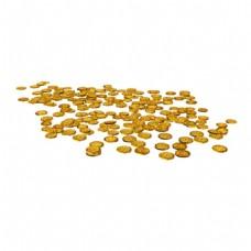金色金币散落元素