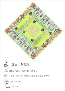 东巴文化装饰图案设计