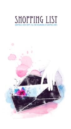 艺术手绘信封图案