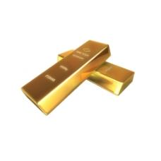 金条金砖免扣PNG元素