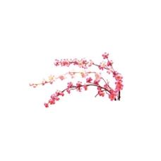 手绘红色梅花元素