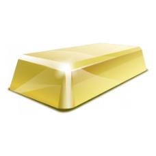 黄色立体几何元素