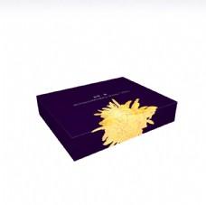 高端金丝皇菊包装设计后视图
