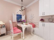 现代简约家居卧室装修效果图