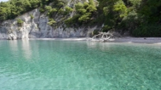 实拍水面海岸视频素材