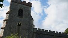砖墙城堡建筑视频