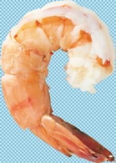 去头的小虾免抠png透明图层素材