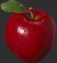 发光的红苹果图片免抠png透明图层素材