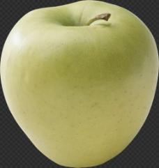 漂亮绿苹果图片免抠png透明图层素材