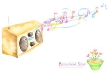 经典音乐装饰图案
