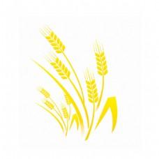 金色的麦穗图标