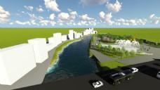 景观设计公园效果图