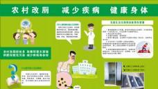 农村改厕 减少疾病 健康身体