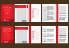 红色高档企业商务宣传画册