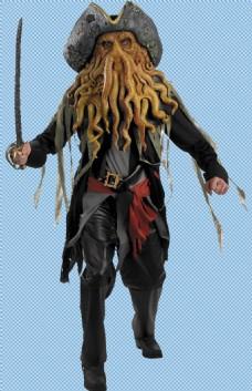 海盗人物角色免抠png透明图层素材