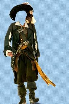 海盗人物模型免抠png透明图层素材