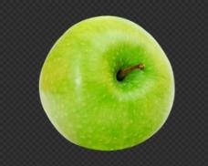 绿色苹果图片免抠png透明图层素材