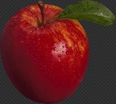 漂亮红苹果图片免抠png透明图层素材