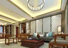 中式家装客厅