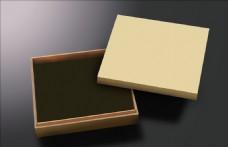 黄色包装盒模板
