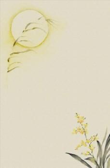 水墨中国风展板海报背景图