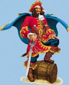 大海盗图片免抠png透明图层素材