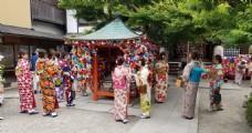 古典和服日本美女