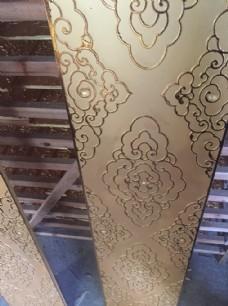 寺庙新型天花吊顶扣板