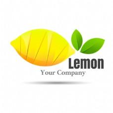 创意水果柠檬商标