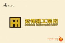 洪锋建工集团logo