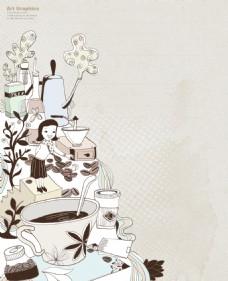 矢量艺术花纹经典装饰图案