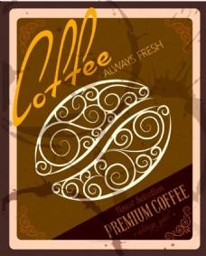 咖啡褐色背景