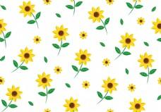 可爱清新小碎花背景素材