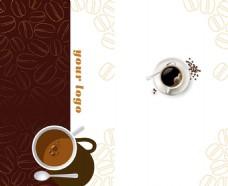 艺术咖啡时尚背景