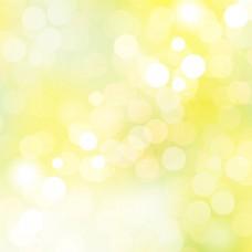 黄色梦幻星光唯美背景