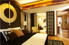 现代豪华卧室装修效果图
